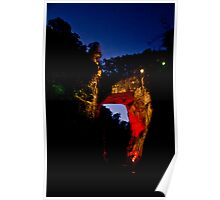 Natural Bridge Lightshow Poster
