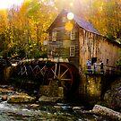 Babcock state park - Glade Creek Grist Mill by vasu
