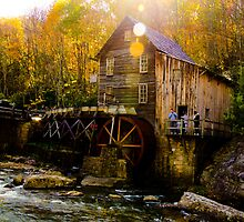 Babcock state park - Glade Creek Grist Mill by vasu