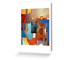 Abstract Morning Greeting Card