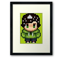 Salt man -Adrian  Framed Print