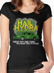 Need a Lift? Hail Hydra! Women's Fitted Scoop T-Shirt