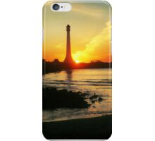 Sun bombs St. Kilda Lighthouse and misses! iPhone Case/Skin
