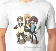 Attack on Titan xx Vocaloid Unisex T-Shirt