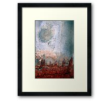 city moon Framed Print