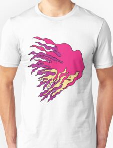 Girl with flame like hair T-Shirt