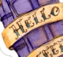 """Hello Sweetie"" Sticker"