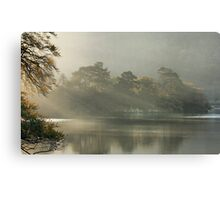 Sunrays on Rydal Water . Canvas Print