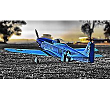 Scale P-51 Mustang Photographic Print