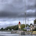 Honfleur  Harbour (3) The Light by cullodenmist