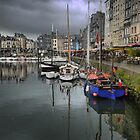 Honfleur   Harbourside (2)   by cullodenmist