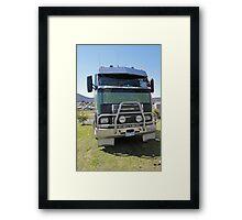520 Volvo 1996 - Royal Hobart Show Tasmania Framed Print