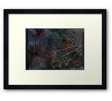Midnight Garden cycle22 22 Framed Print