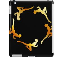 Gymnasts in action iPad Case/Skin