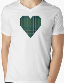 00873 Wellington (Lochcarron) Tartan  Mens V-Neck T-Shirt