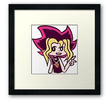 Cute Yugi Framed Print