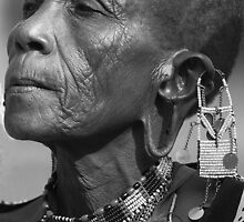 Masaai African Elder by Jill Fisher