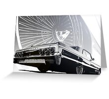 Impala Poster Greeting Card