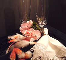 ROSES, FEATHERS AND A RING by Heidi Mooney-Hill