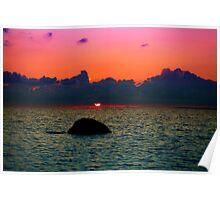 Sunset. Hiiumaa. Poster