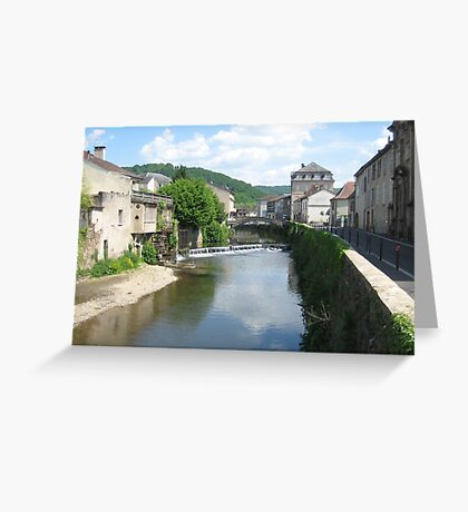 St Cere, France 2011, Canon IXUS 50 Greeting Card