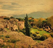 Among the Ruins-Pompeii by Deborah Downes