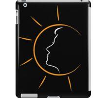 Face of a woman in the sun iPad Case/Skin
