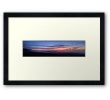 Newport Dawn - Newport Beach, Sydney Australia (Pano) - The HDR Experience Framed Print