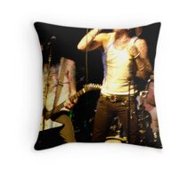 LONDON NIGHT 22 MONEY SHOT - EAT THE MICROPHONE Throw Pillow