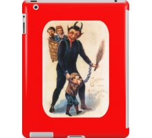 Krampus 003 iPad Case/Skin