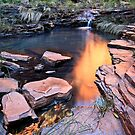 A View of Eden - Weano Gorge - Karijini NP by Matt  Streatfeild
