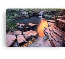A View of Eden - Weano Gorge - Karijini NP Canvas Print