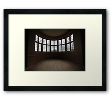 kirby hall window Framed Print