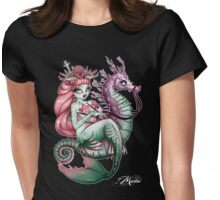 Mermaid Inked Womens Fitted T-Shirt