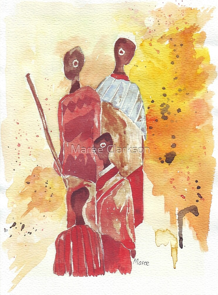 African Women - Ethnic series by Maree Clarkson