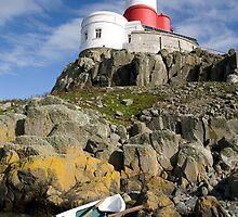 Ynysoedd y Moeirhoniaid (The Skerries) The Lighthouse by Raymond Kerr