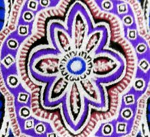 Purple Paisley iPhone case by ©The Creative  Minds