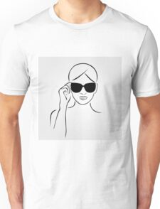 Style with shades Unisex T-Shirt