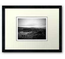 Dartmoor scenery Framed Print
