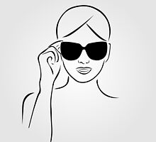 Style with shades by Shawlin Mohd