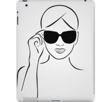Style with shades iPad Case/Skin
