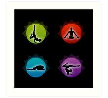 Yoga pilates  Art Print