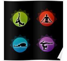 Yoga pilates  Poster