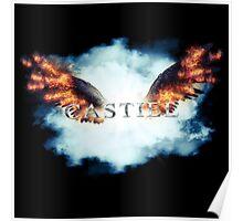 Castiel  Descent Poster