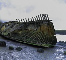 OLD WRECK by andrewsaxton