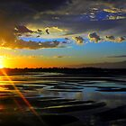 A Burst of Sunset by Henry Murray