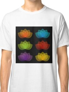 Graceful lotus with 5 petals  Classic T-Shirt