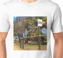 Beach Access Sign and Path Unisex T-Shirt