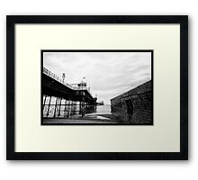 brighton pier Framed Print