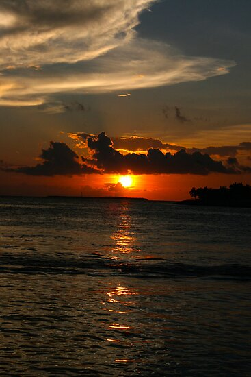 Sunset at Key West by kathycee